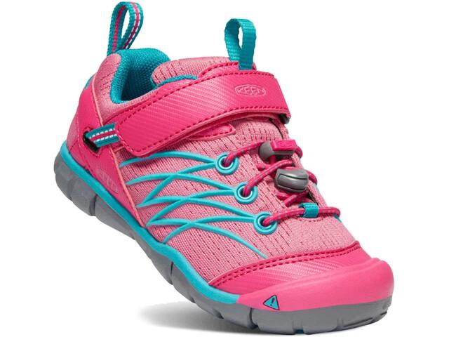 Keen Chandler CNX Scarpe Bambino, bright pink/lake green